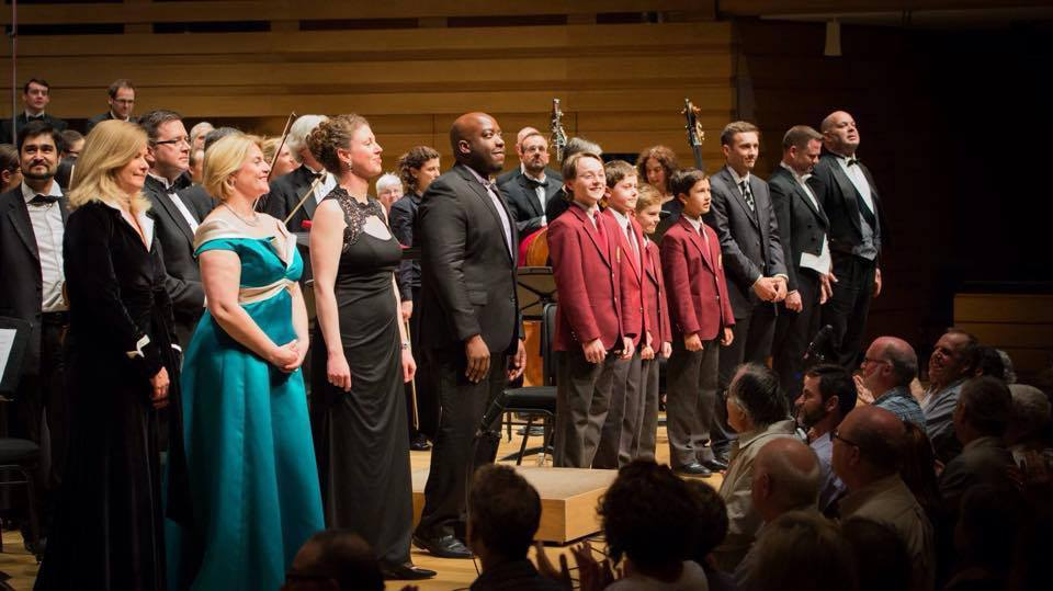 Curtain call at Koerner Hall for Judith