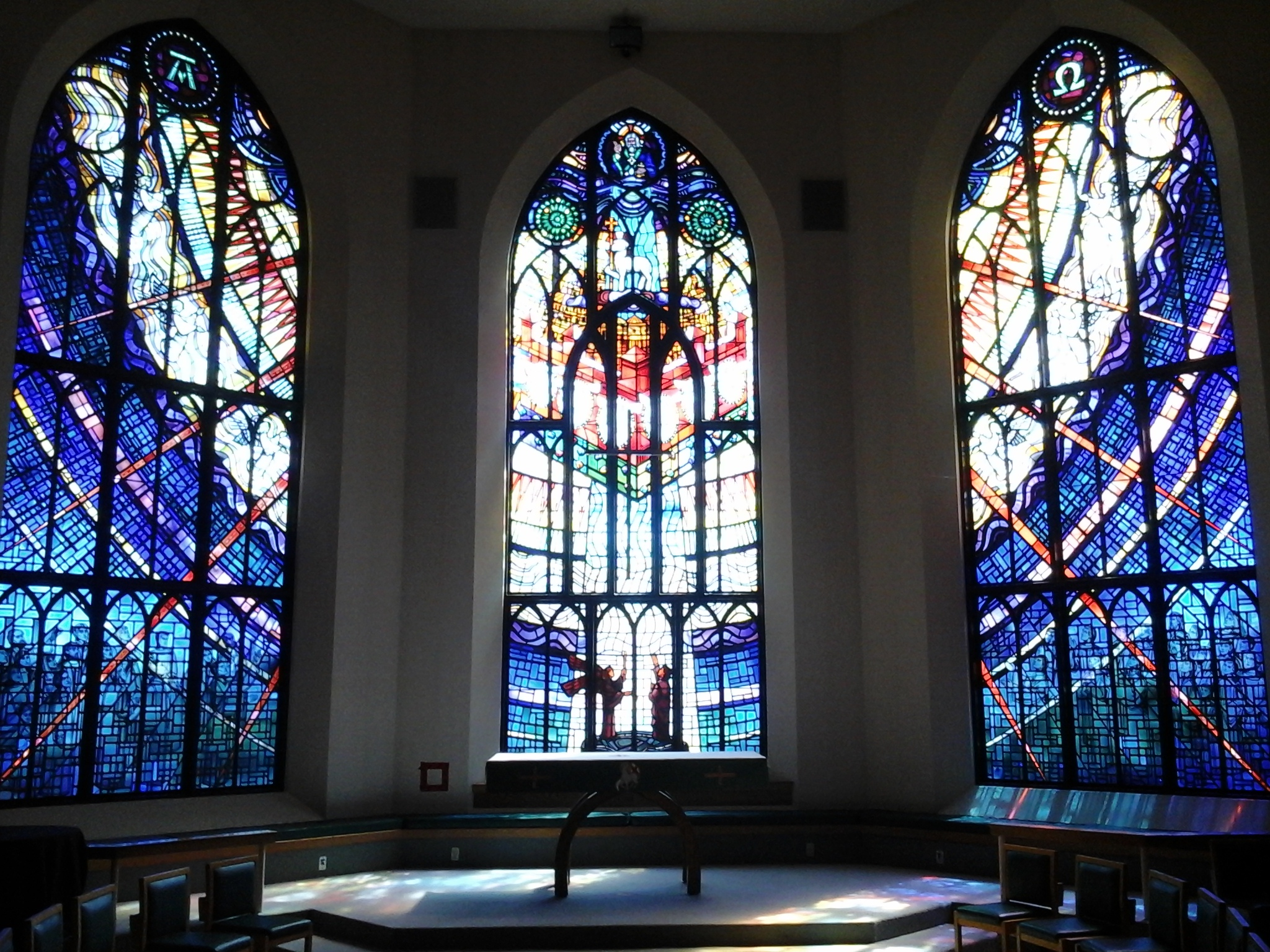 Christ Church Cathedral, Victoria, east window by Christopher Wallis