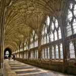 Cloister Gloucester cathedral